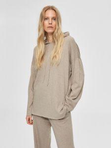 selected-femme-naisten-neule-inka-cashmere-ls-knit-hoodie-vaalea-beige-1
