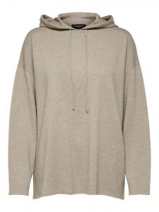 selected-femme-naisten-neule-inka-cashmere-ls-knit-hoodie-vaalea-beige-2