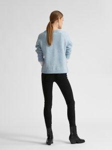 selected-femme-naisten-neule-lulu-ls-knit-v-neck-vaaleansininen-2