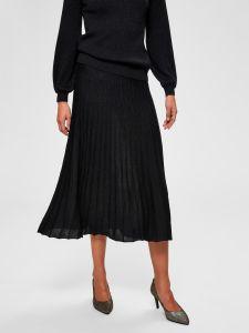 selected-femme-naisten-neulehame-zamba-midi-lurex-knit-skirt-musta-1