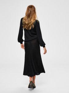 selected-femme-naisten-neulehame-zamba-midi-lurex-knit-skirt-musta-2