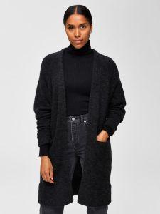 selected-femme-naisten-neuletakki-lanna-ls-knit-cardigan-grafiitti-1