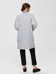 selected-femme-naisten-neuletakki-lanna-ls-knit-cardigan-vaaleanharmaa-2