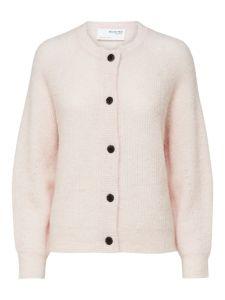 selected-femme-naisten-neuletakki-lulu-ls-knit-short-cardigan-vaaleanpunainen-1