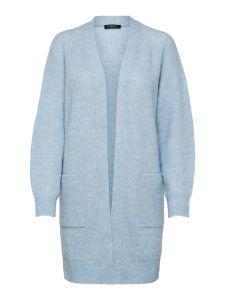 selected-femme-naisten-neuletakki-slflulu-ls-knit-long-cardigan-noos-vaaleansininen-1