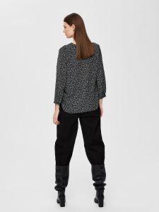 selected-femme-naisten-paita-dyla-7-8-pusero-musta-kuosi-2