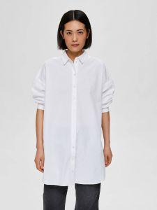 selected-femme-naisten-paitapusero-fami-7-8-long-shirt-valkoinen-1