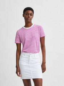 selected-femme-naisten-t-paita-my-perfect-ss-tee-raidallinen-pinkki-2