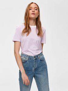 selected-femme-naisten-t-paita-my-perfect-ss-tee-raidallinen-vaaleanpunainen-1