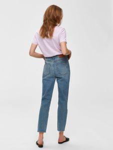 selected-femme-naisten-t-paita-my-perfect-ss-tee-raidallinen-vaaleanpunainen-2