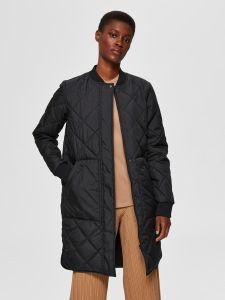 selected-femme-naisten-takki-slfnatalia-quilted-coat-b-noos-musta-1