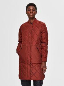 selected-femme-naisten-takki-slfnatalia-quilted-coat-b-noos-poltettu-oranssi-1