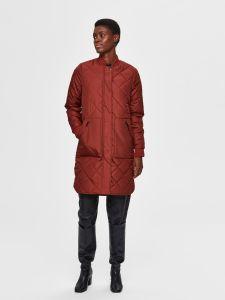 selected-femme-naisten-takki-slfnatalia-quilted-coat-b-noos-poltettu-oranssi-2