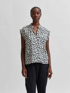 selected-femme-naisten-toppi-slfpaulina-aop-sl-shirt-musta-kuosi-2
