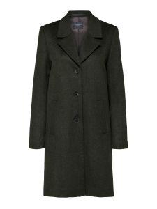 selected-femme-slfsasja-wool-coat-noos-naisten-villakangastakki-armeijanvihrea-1
