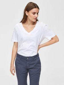 selected-femme-t-paita-slfstandard-ss-v-neck-tee-valkoinen-1