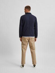 selected-homme-miesten-takki-chore-jacket-tummansininen-2