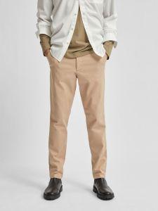 selected-miesten-housut-slim-miles-linen-pants-beige-1