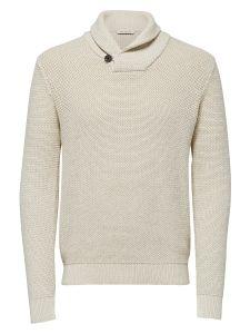 selected-miesten-neule-richard-shawl-neck-luonnonvalkoinen-1