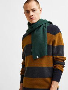 selected-miesten-neulepaita-chase-ls-knit-raidallinen-ruskea-2