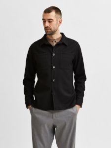 selected-miesten-paitatakki-benjamin-hybrid-blazer-nos-musta-1
