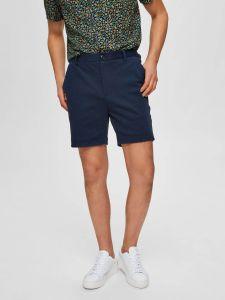 selected-miesten-shortsit-jersey-shorts-k-tummansininen-1