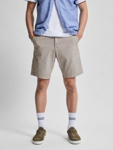 selected-miesten-shortsit-miles-flex-linen-shorts-beige-1