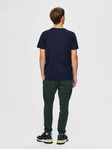 selected-miesten-t-paita-festive-cord-ss-o-neck-tummansininen-2