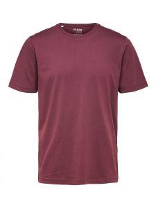 selected-miesten-t-paita-norman-180-nos-o-neck-viininpunainen-1