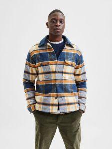 selected-miesten-takki-lumber-jacket-ad-oranssiruutu-1