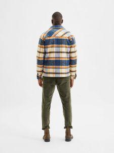 selected-miesten-takki-lumber-jacket-ad-oranssiruutu-2