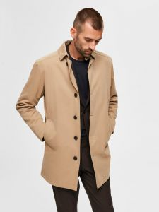 selected-miesten-takki-new-times-cotton-jacket-beige-1