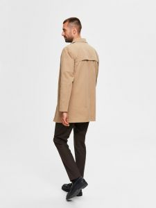 selected-miesten-takki-new-times-cotton-jacket-beige-2