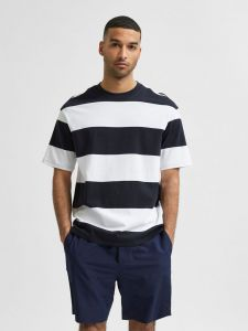 selected-misten-t-paita-loose-bold-ss-o-neck-raidallinen-sininen-1
