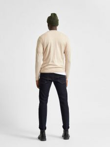 selected-neule-dome-crew-neck-beige-2