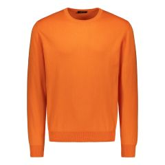sinnuu-miesten-neule-cotton-crew-oranssi-1