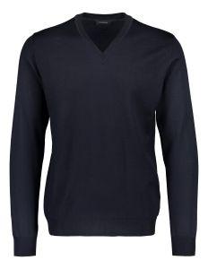 sinnuu-miesten-neulepaita-merino-v-neck-tummansininen-1