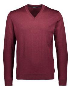 sinnuu-miesten-neulepaita-merino-v-neck-viininpunainen-1