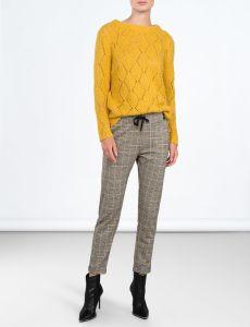 summum-naisten-housut-ruskea-ruutu-2