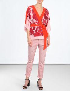 summum-naisten-housut-summer-trousers-vaaleanpunainen-kuosi-1
