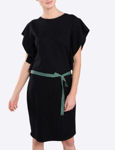 summum-naisten-mekko-jersey-musta-2