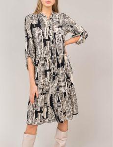summum-naisten-mekko-mustavalkoinen-1