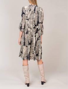 summum-naisten-mekko-mustavalkoinen-2