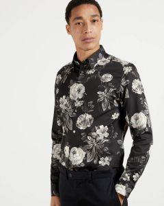 ted-baker-miesten-kauluspaita-eclair-floral-print-musta-1
