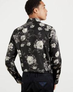 ted-baker-miesten-kauluspaita-eclair-floral-print-musta-2