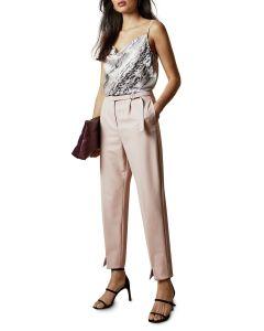 ted-baker-naisten-housut-starme-pant-vaaleanpunainen-1