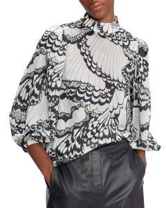 ted-baker-naisten-kangaspusero-yelva-blouse-mustavalkoinen-1