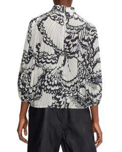 ted-baker-naisten-kangaspusero-yelva-blouse-mustavalkoinen-2