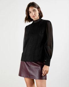 ted-baker-naisten-paita-vessar-shirt-musta-1
