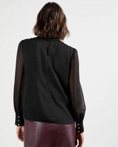 ted-baker-naisten-paita-vessar-shirt-musta-2